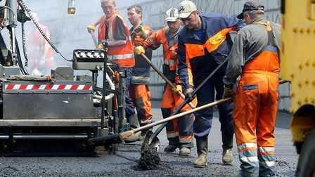 Плановый ремонт новосибирских дорог выполнен на треть