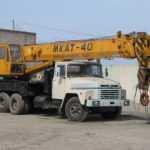 Услуги автокрана 40 тонн МКАТ-40