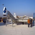 установка для рециклинга бетона