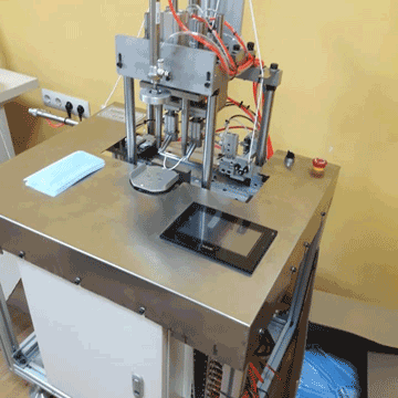 Станок автоматический для приварки ушных петель