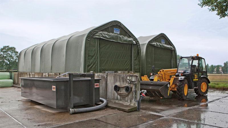 навес для контейнеров для военных